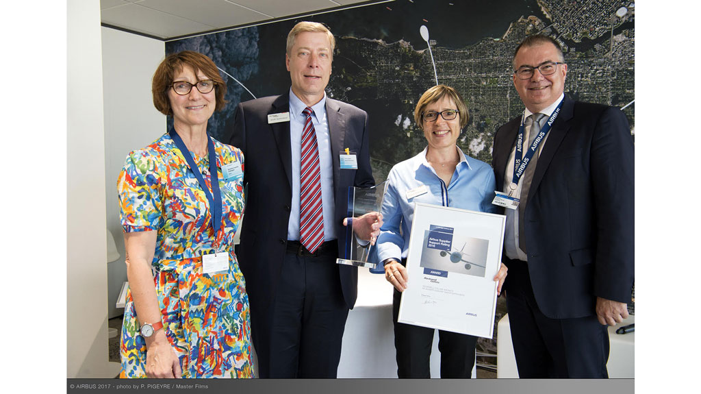 Airbus Top Supplier 2017