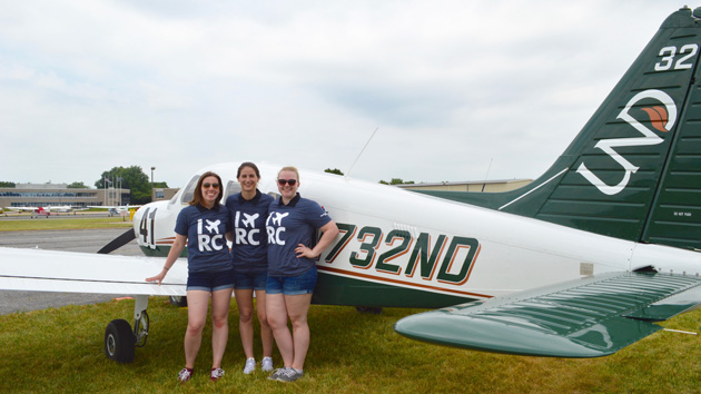 University of North Dakota's Women With Wings