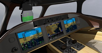 HUD-3500 Flight Deck