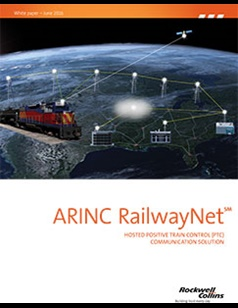 ARINC RailwayNet brochure covers