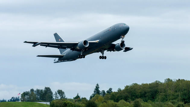 Hard Work Pays Off As Kc 46 Makes First Flight