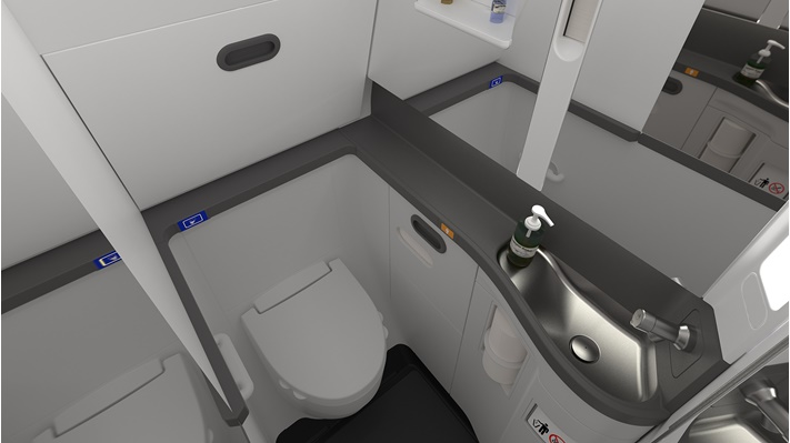 737 advanced lavatory