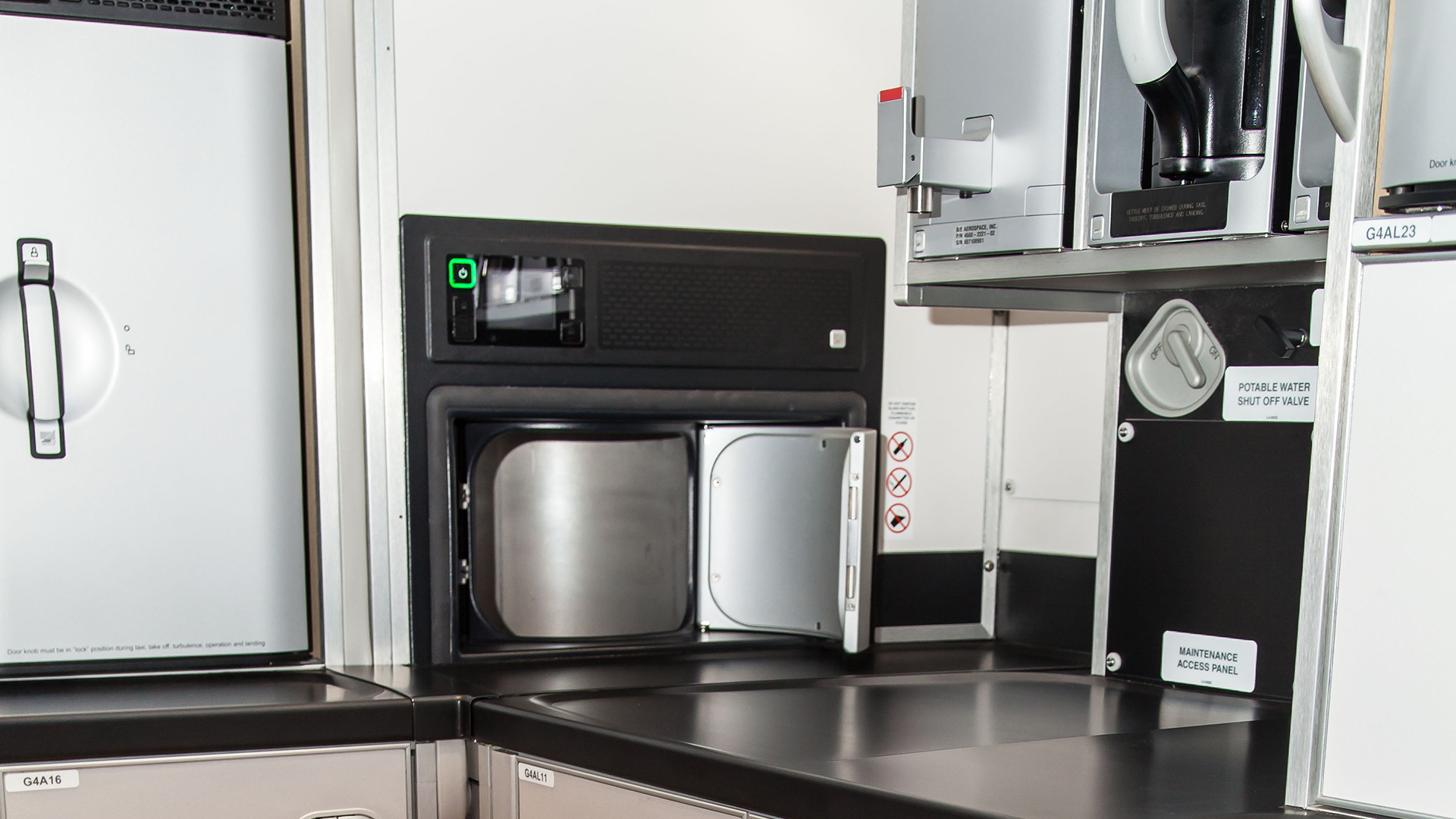 Galley Systems For A350 Aircraft