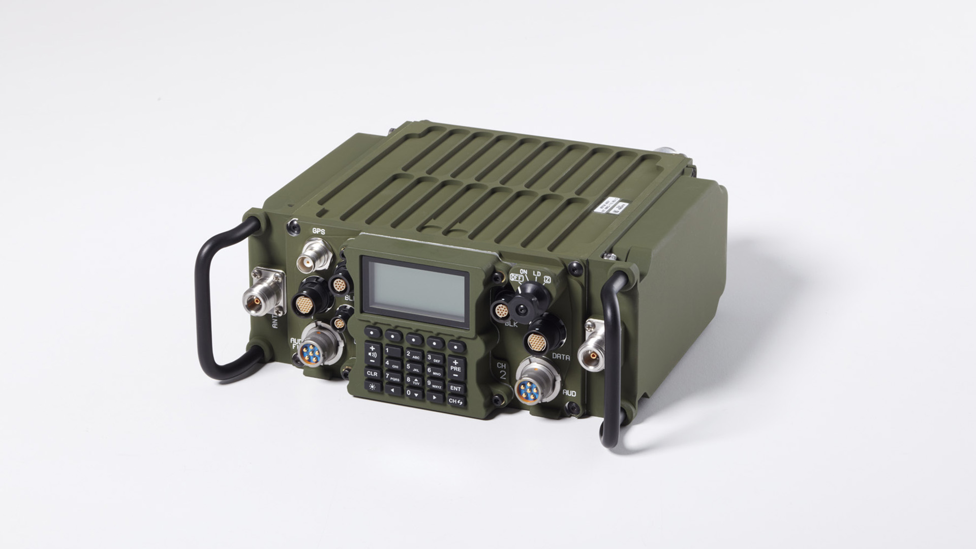 TruNet AN/PRC-162 (V)1 networked communications ground radio