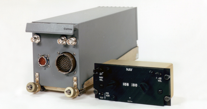 A Rockwell Collins receiver