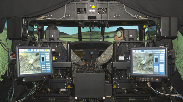 Rockwell Collins TBOS simulator