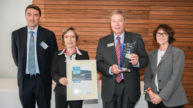 Rockwell Collins awarded Airbus Supplier Support Award