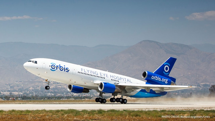 MD 10 Orbis Taking Off