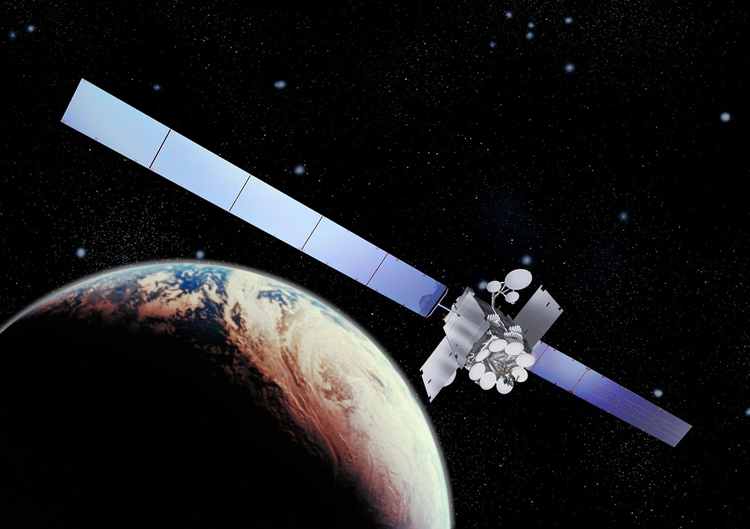 The Inmarsat I-5 Global Xpress satellite