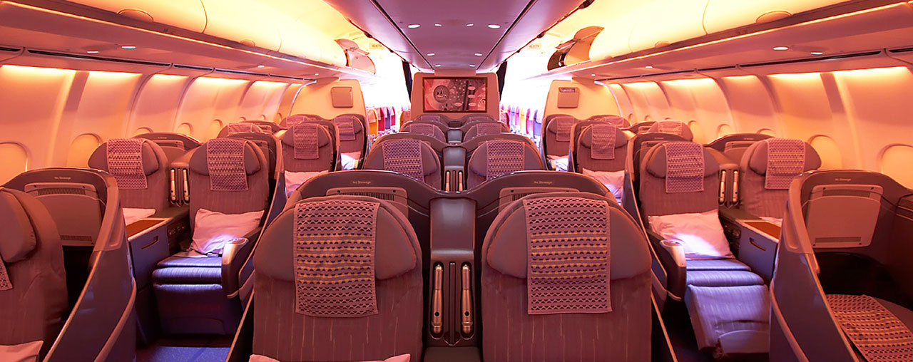 Image showcasing cabin interior products
