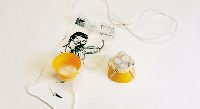 Image of aircraft oxygen mask