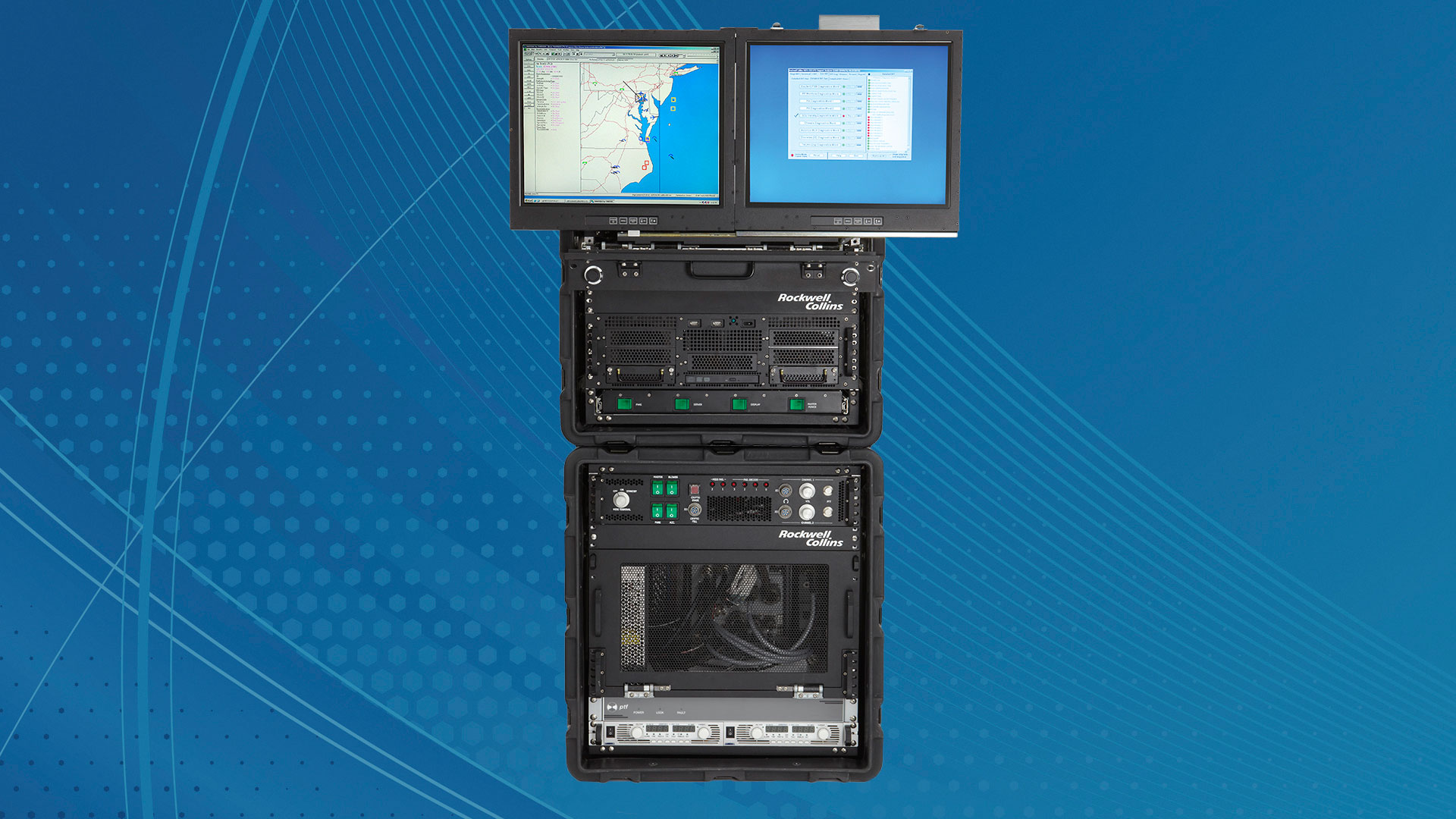 Image of a Mobile Integration and Test Environment set-up