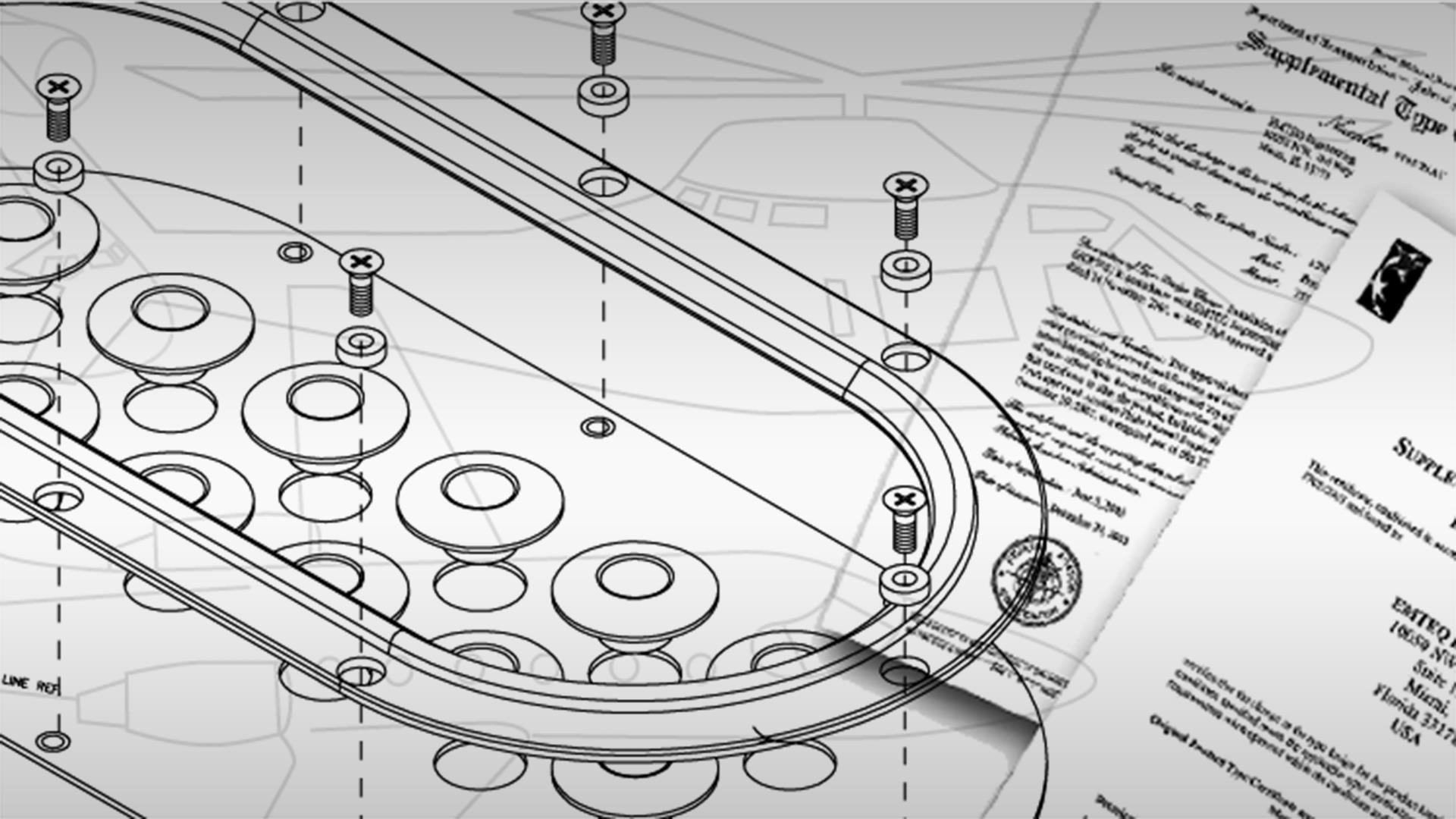 Engineering, design and certification documents