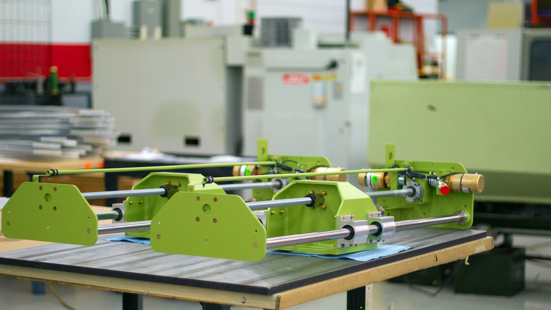 product manufacturing equipment