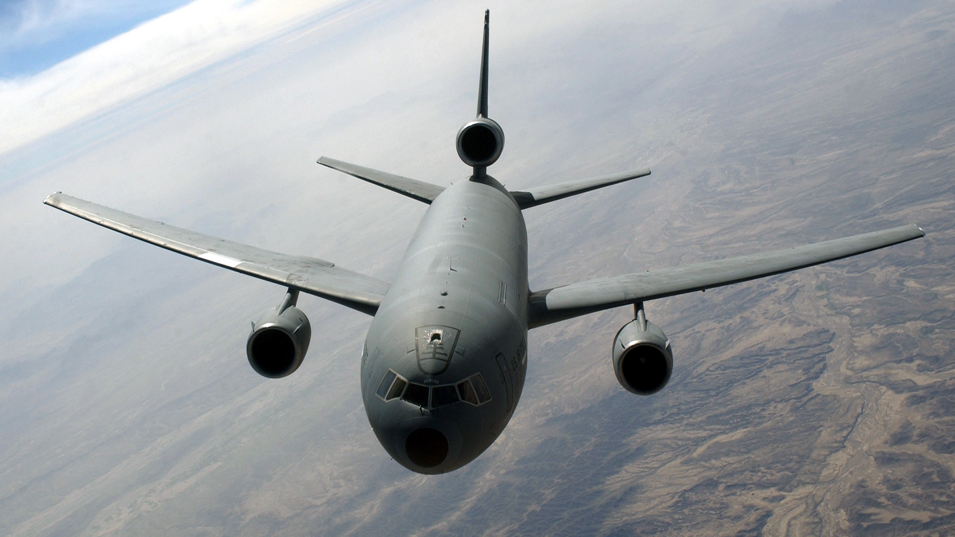 KC-10 Extender from flies a mission