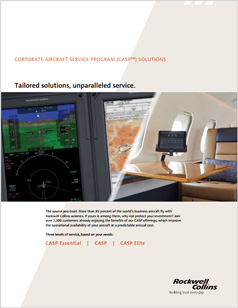 Corporate Aircraft Service Program (CASP) Solutions