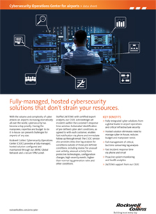 Cybersecurity brochure cover
