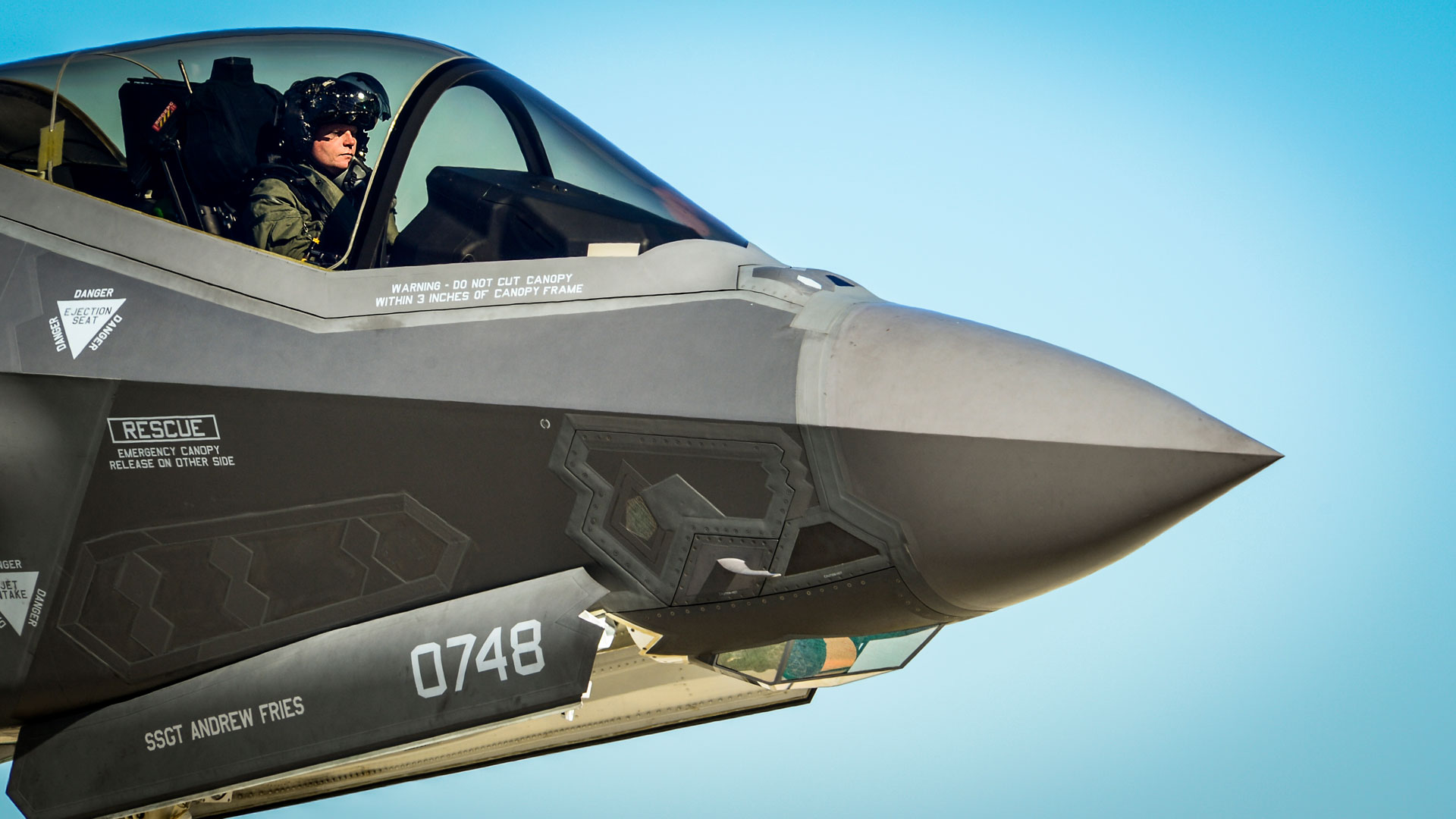 SSGT Andrew Fries F-35