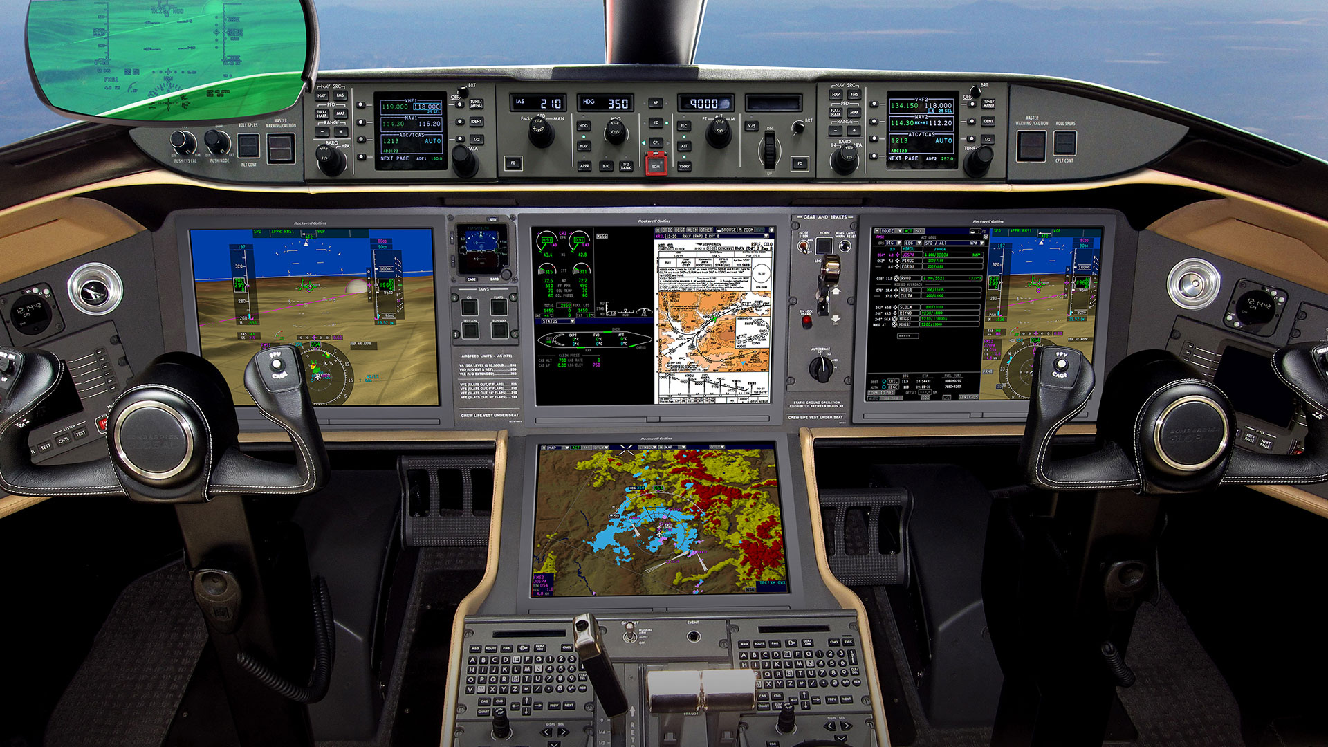 Pro Line Fusion for Bombardier Global 5000/6000