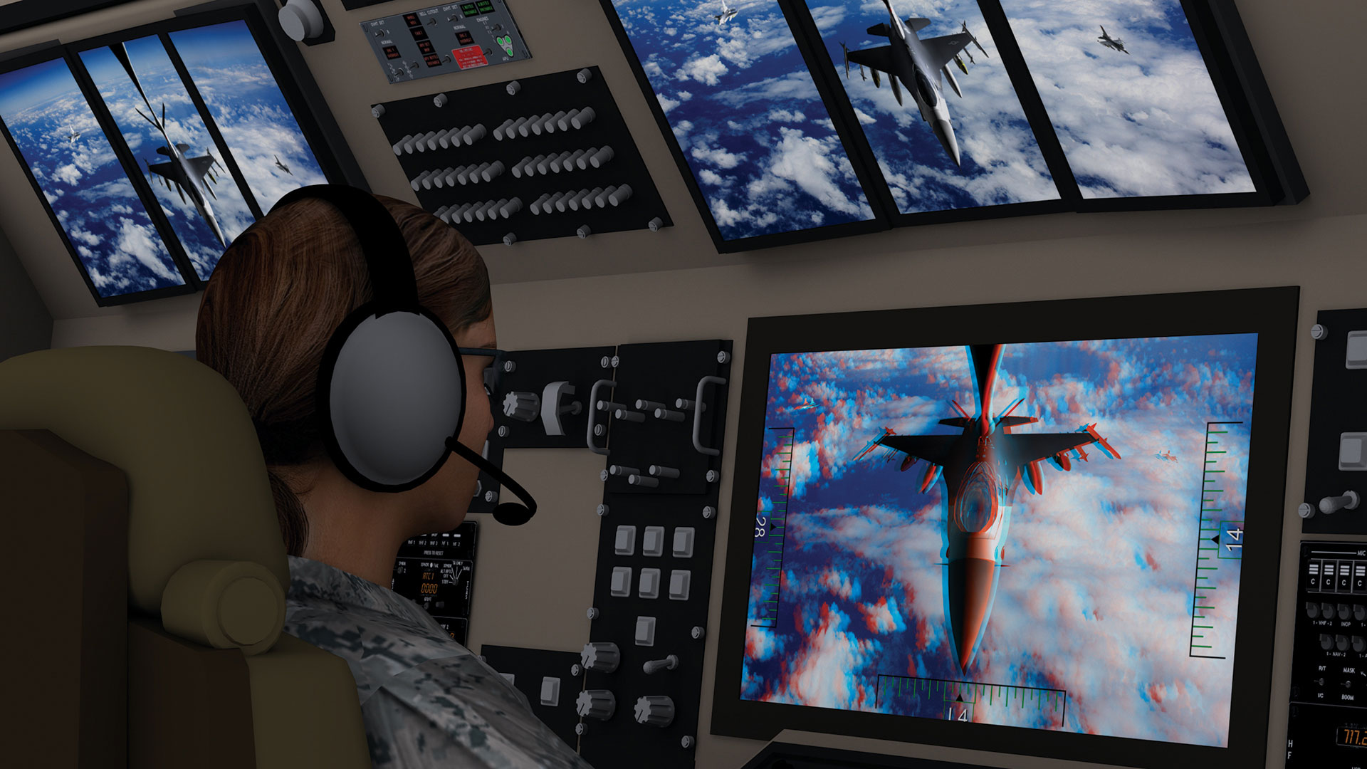 Tactical Airborne Vision System 3D