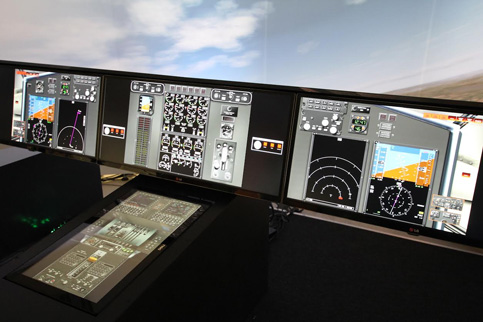 C-130 development rig is now operational in Rockwell Collins' avionics lab in Toulouse, France