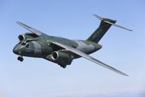 Rockwell Collins has been selected by Embraer to provide the Cargo Handling and Aerial Delivery Control System (CHADCS) for the Brazilian Air Force's KC-390 (pictured here). Photo courtesy of Embraer.