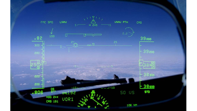 Rockwell Collins Head-up Guidance System