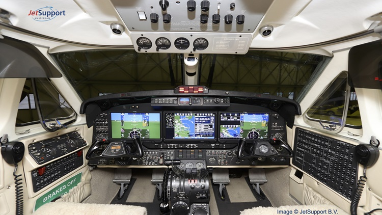 Pro Line Fusion on King Air