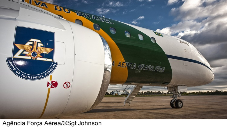 Brazilian Air Force GTE Transport Plane