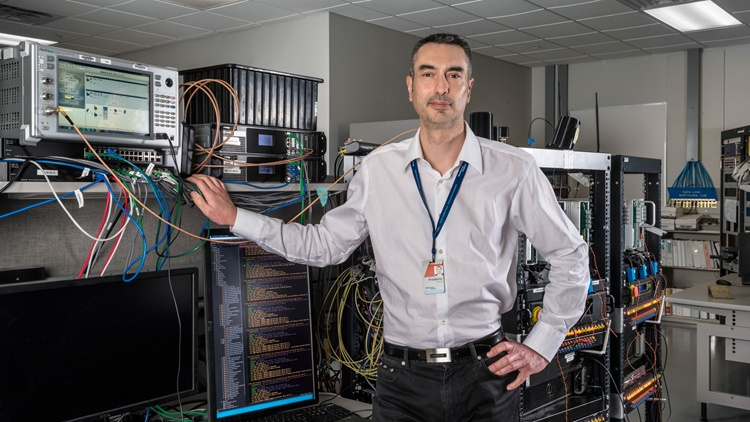Frederic Trincal 2018 Engineer of the Year recipient
