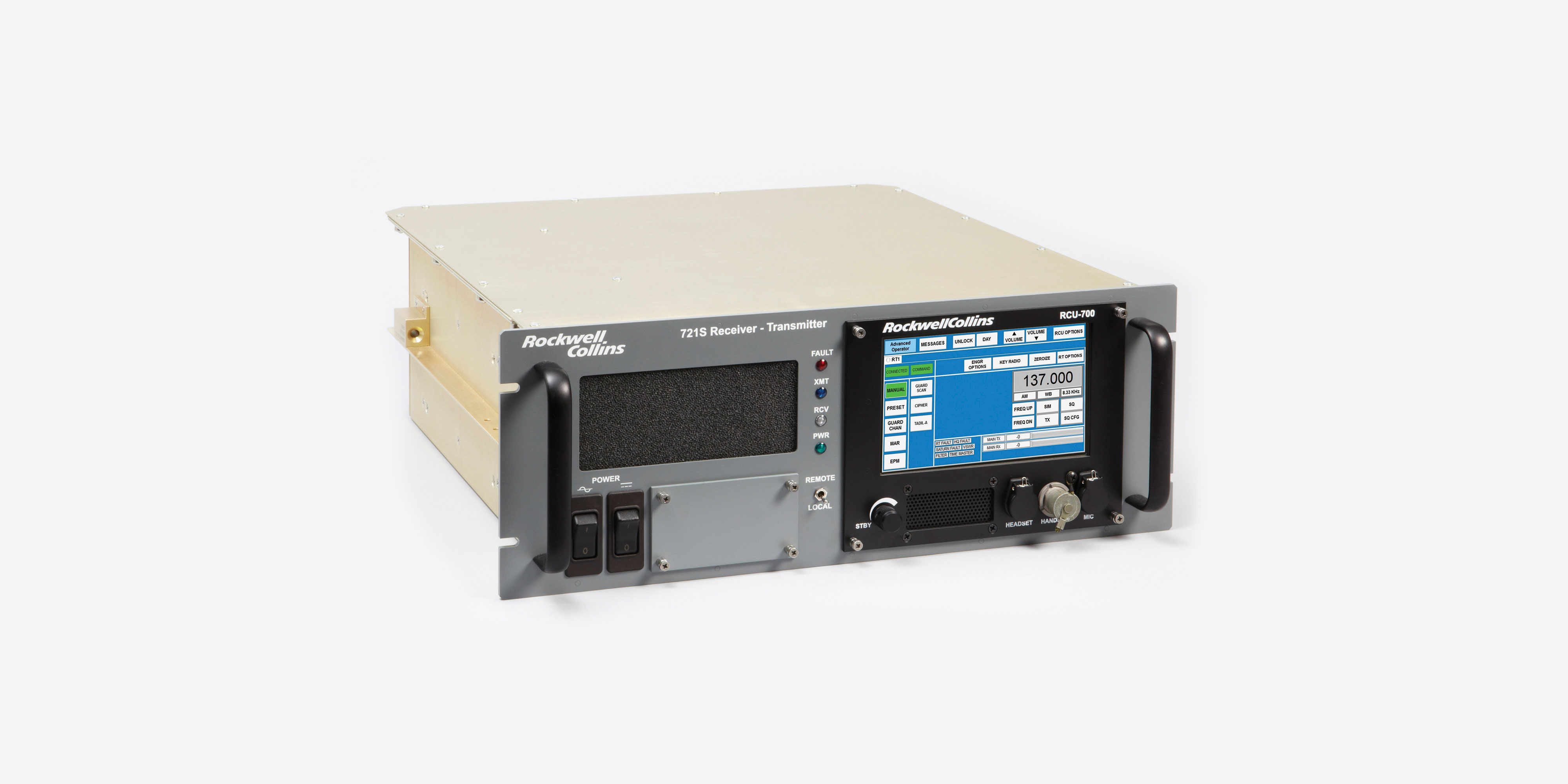 Image of the 721S radio transceiver