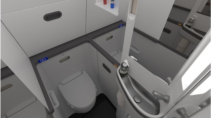 The Advanced Spacewall Lavatory