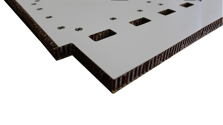 Custom aircraft structural panel