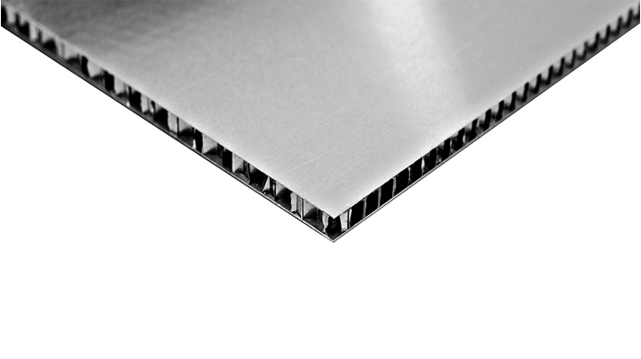 aeroMETALTM honeycomb panel