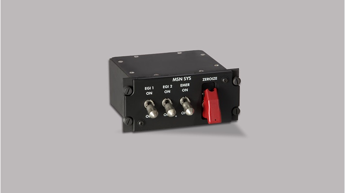 black box with three switches