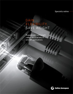 Specialty Cables brochure cover showing data cables