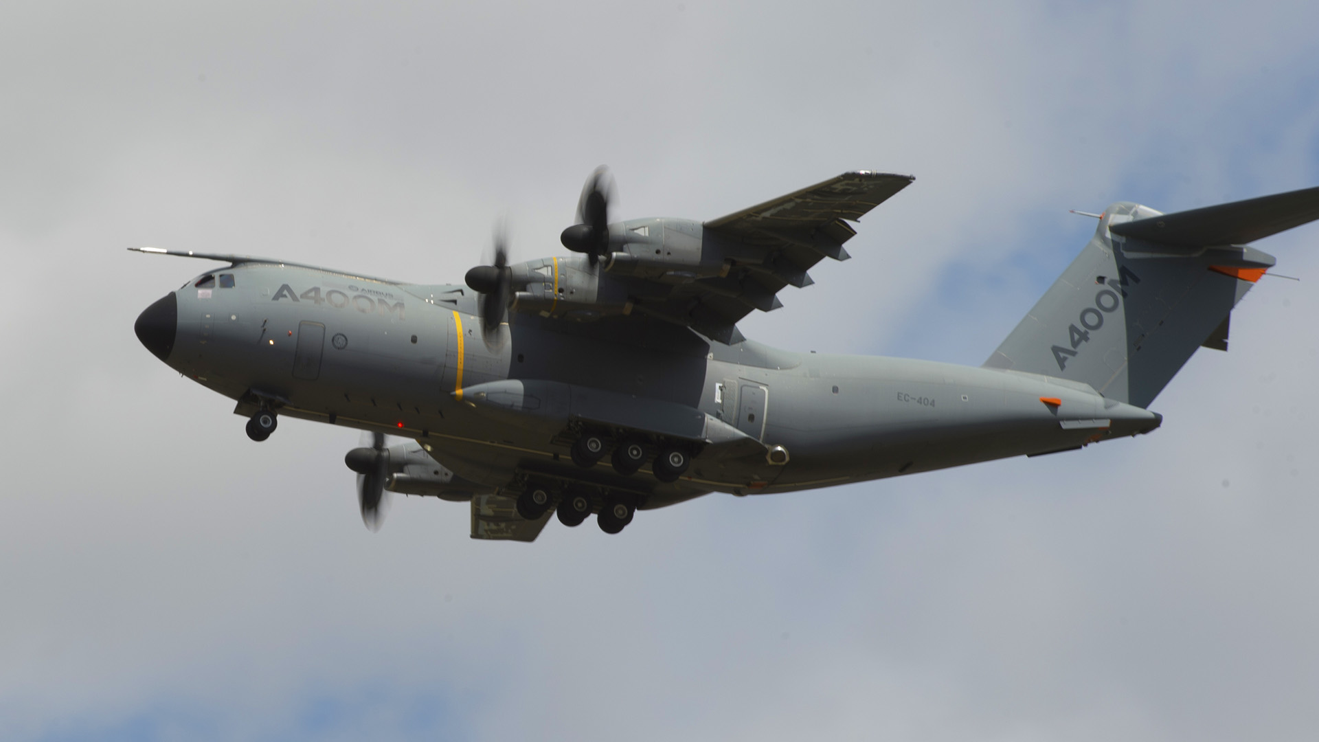 Airbus A400M in flight