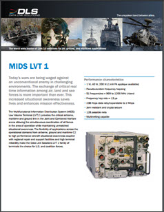 Front of the data sheet with an image of the MIDS LVT (1)