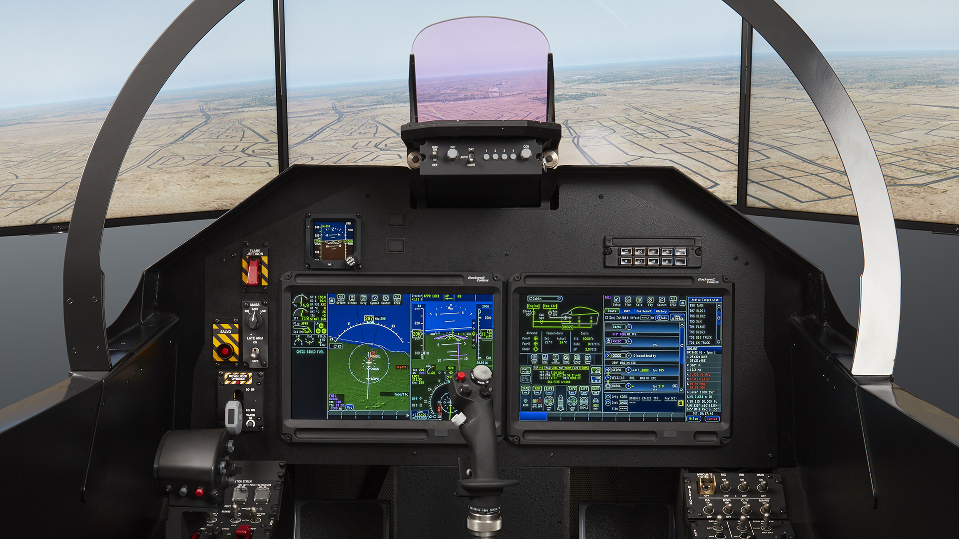 Image of the Pro Line Fusion cockpit Trainer