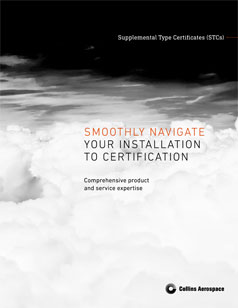 Interior Systems supplemental type certificates brochure