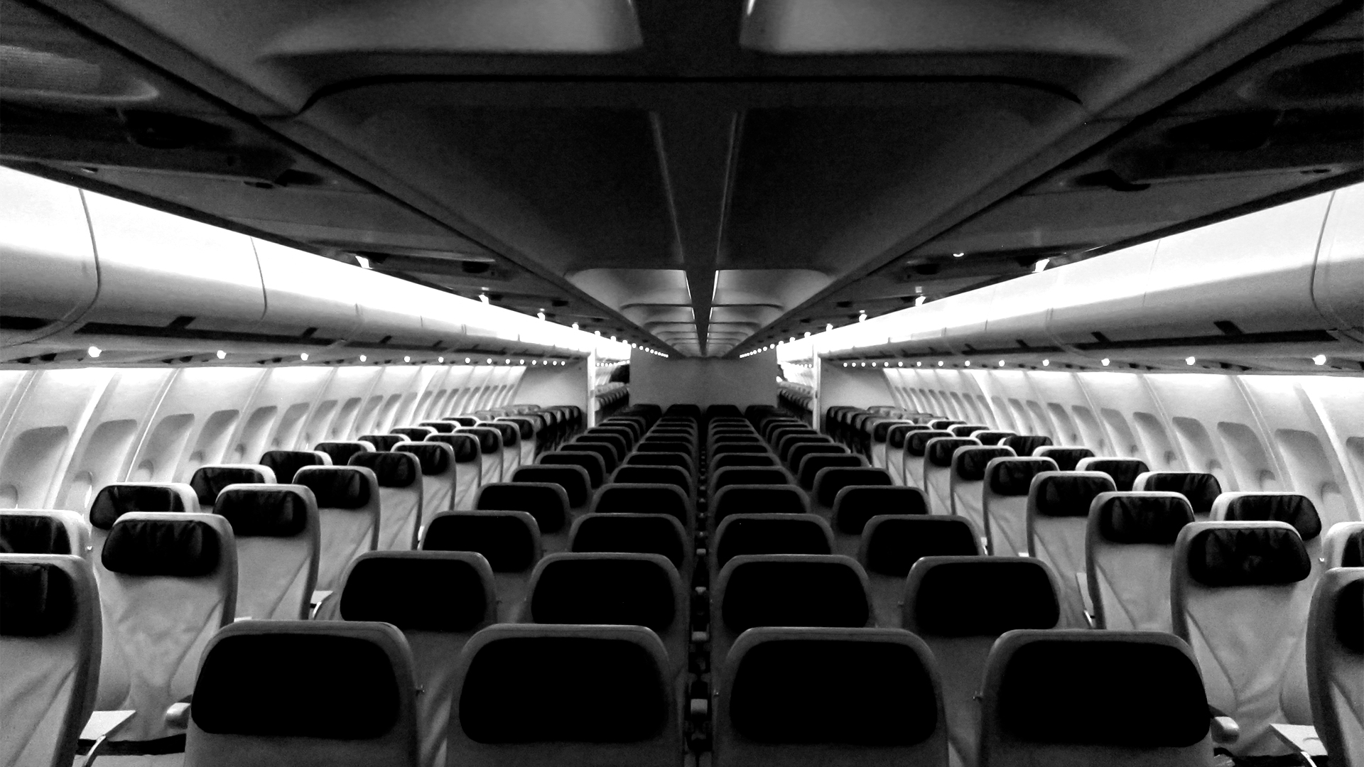 Tapestry lighting system used on an Azul A330