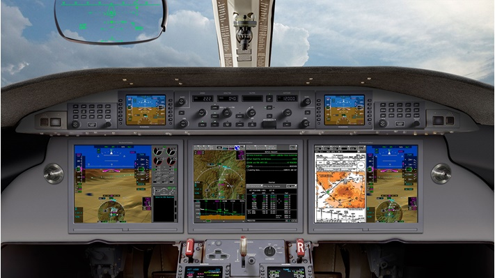Gulfstream G280 with Pro Line Fusion and HGS flight deck