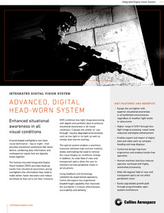 Integrated Digital Vision System (IDVS) datasheet