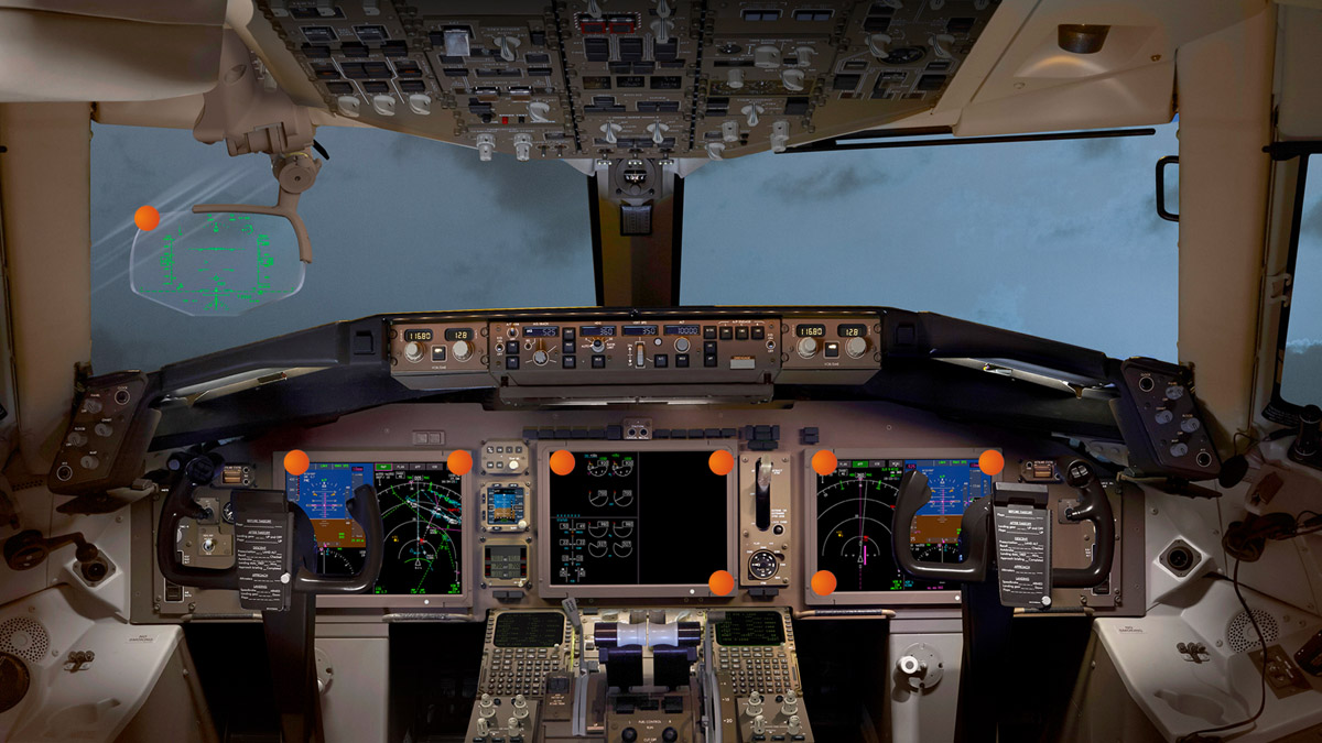 Flight deck - click to view more information