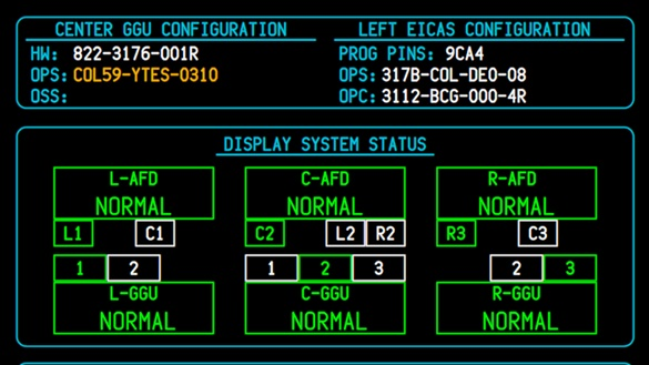 Engine Indication & Crew Alerting System (EICAS)