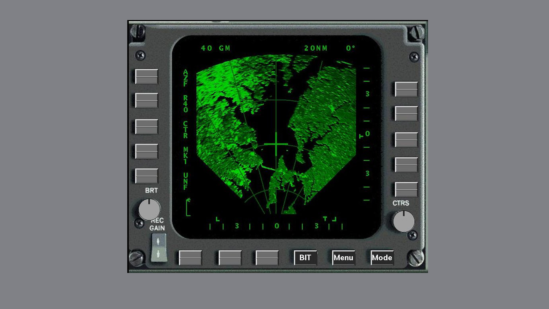 Digital Radar Landmass Simulator DRLMS