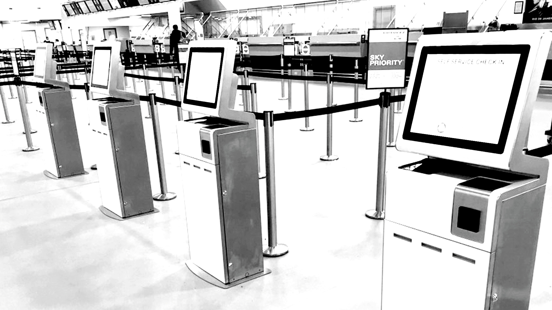 Self-Service Check-in Kiosks