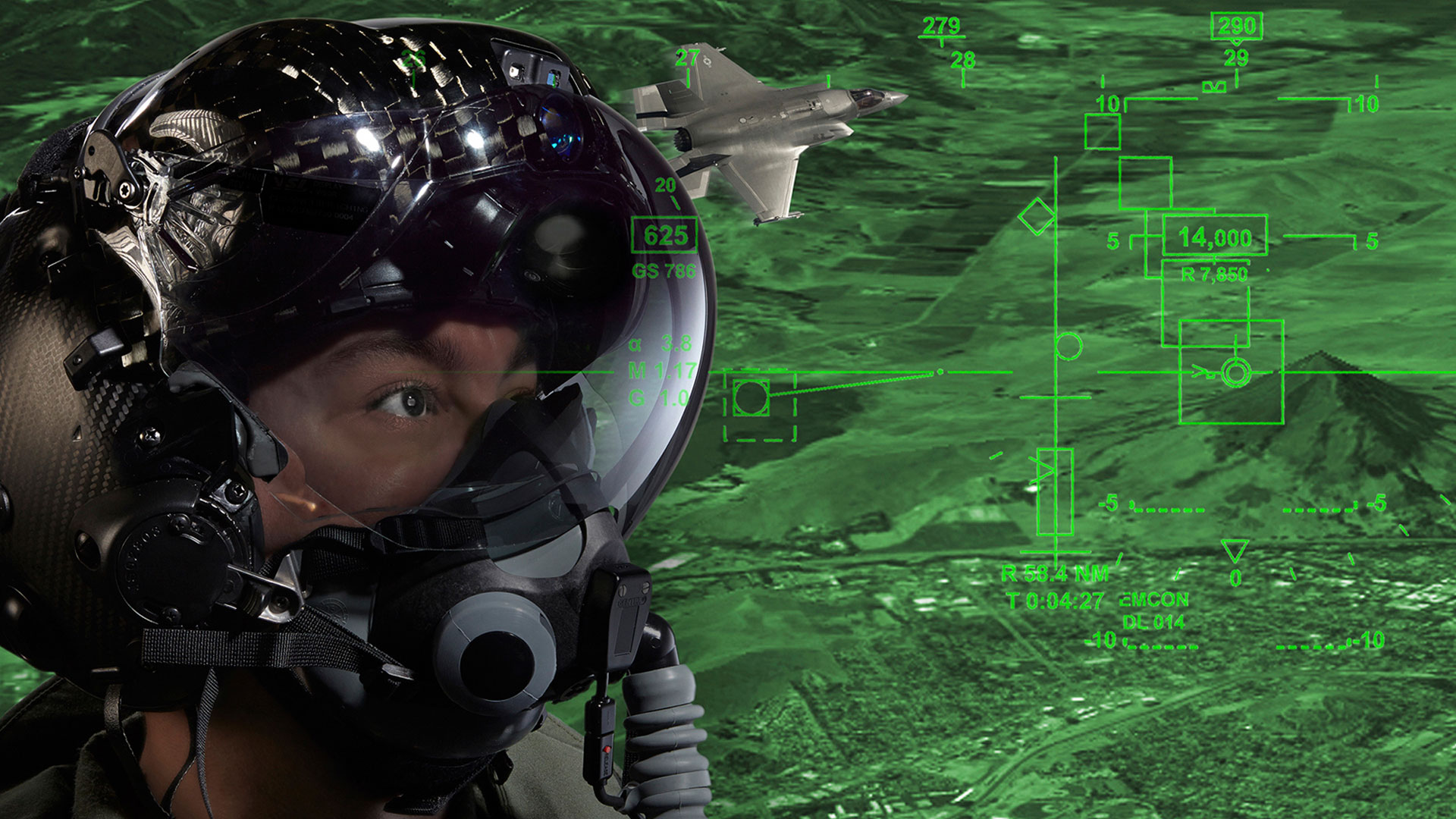 F-35 Helmet Mounted Display